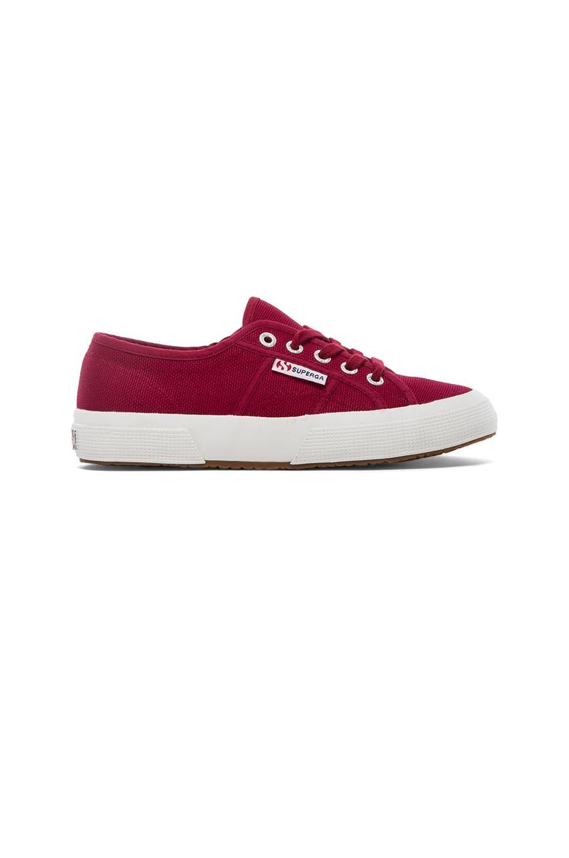 Superga Cotu Classic Sneaker in Scarlet