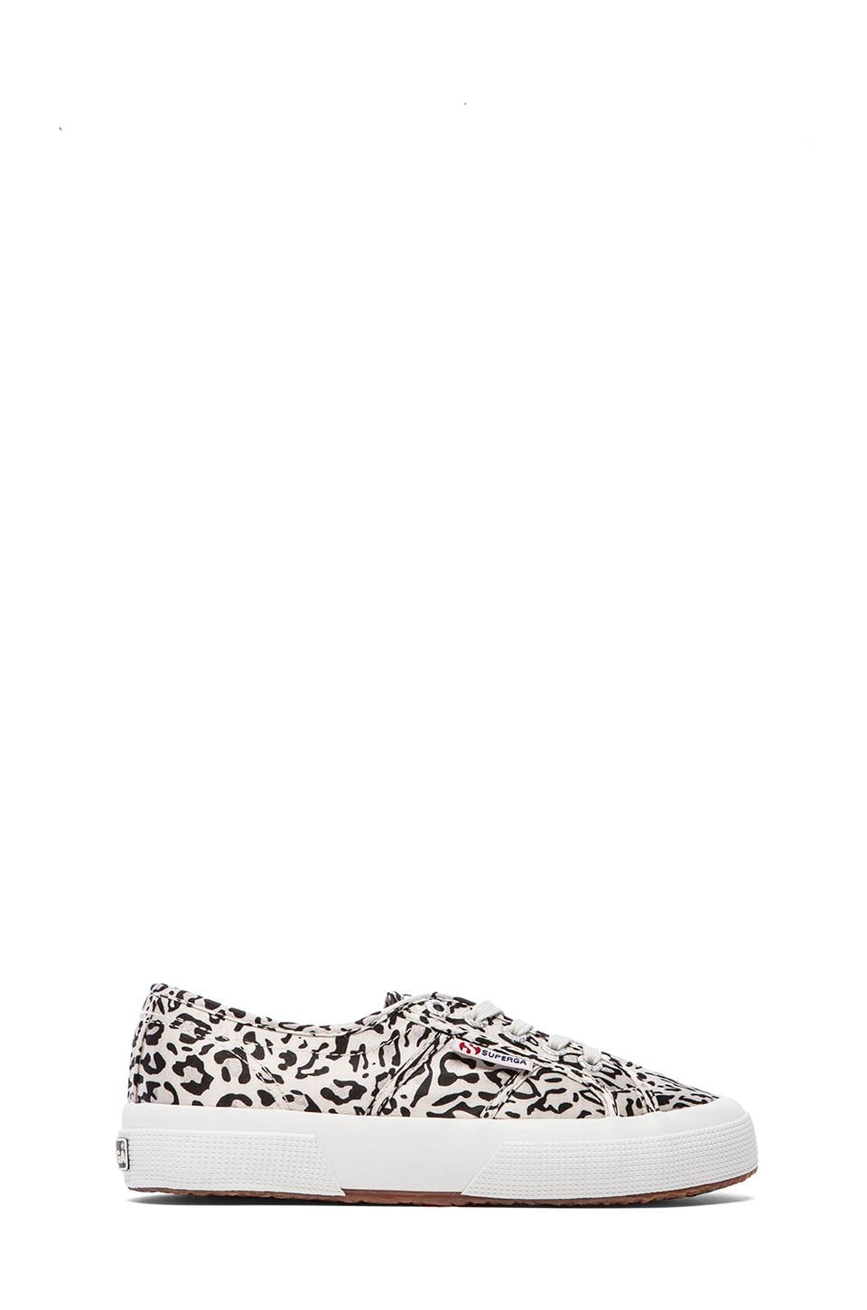 Superga Paianimals Sneakers in Light Grey & Black