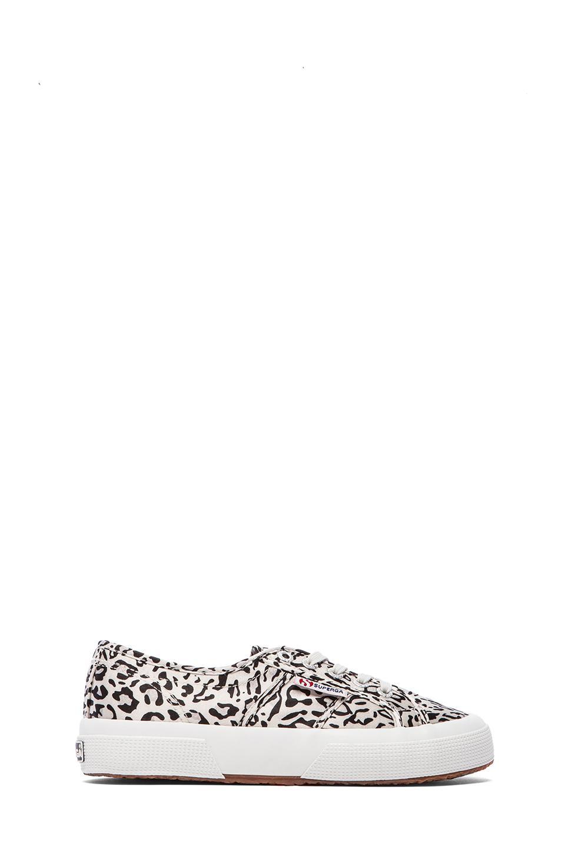 Superga Paianimals Sneakers in Light Grey & Black