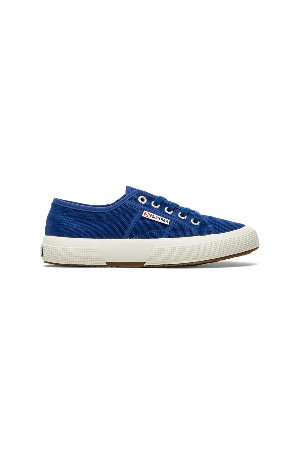 Superga Cotu Classic Sneaker in Intense Blue