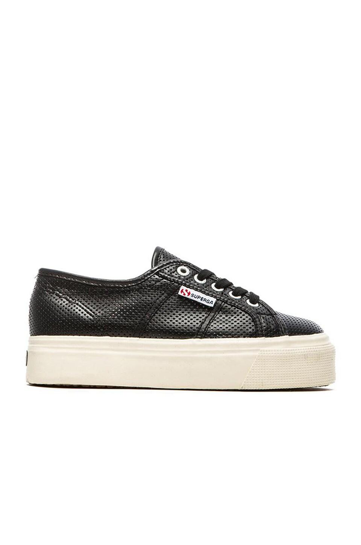 Superga Slip On Sneaker in Black