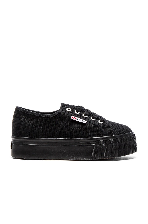 Superga Sneaker in Full Black