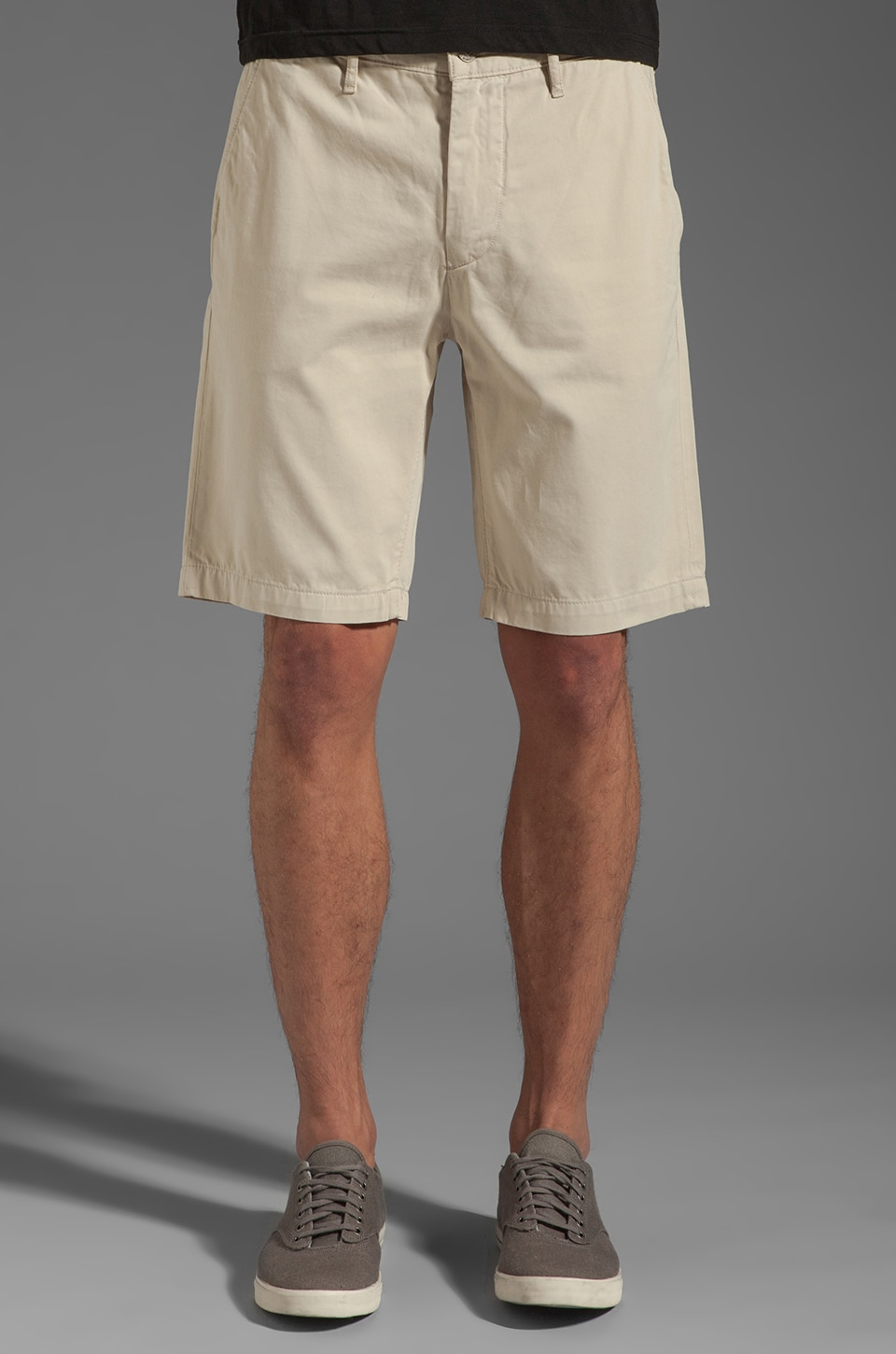 7 For All Mankind Chino Short in Sandstone