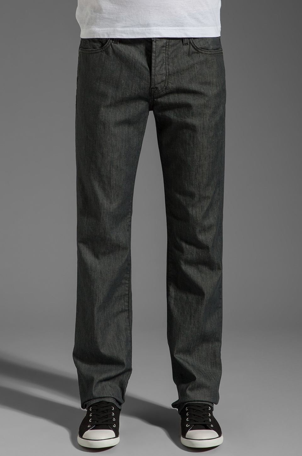 7 For All Mankind The Standard in Clean Grey