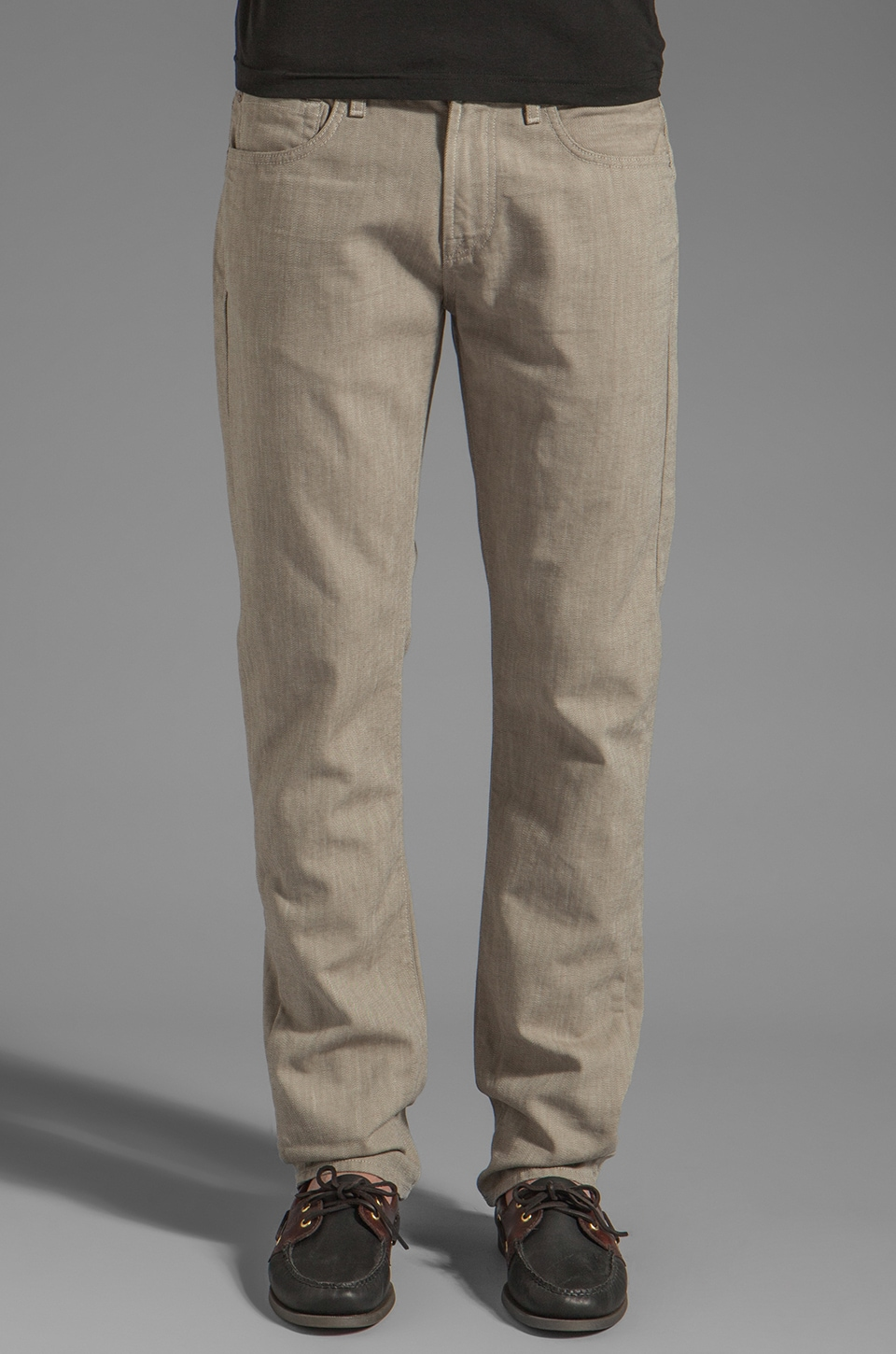 7 For All Mankind The Straight Leg in Coconut