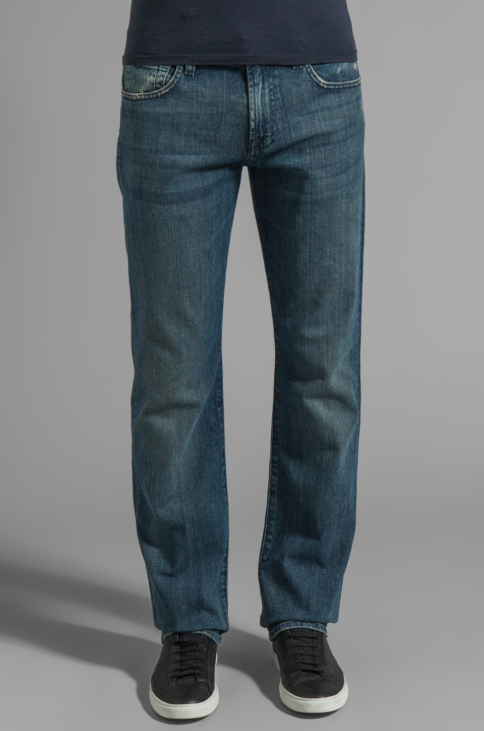 7 For All Mankind Carsen in Stony Creek Blue