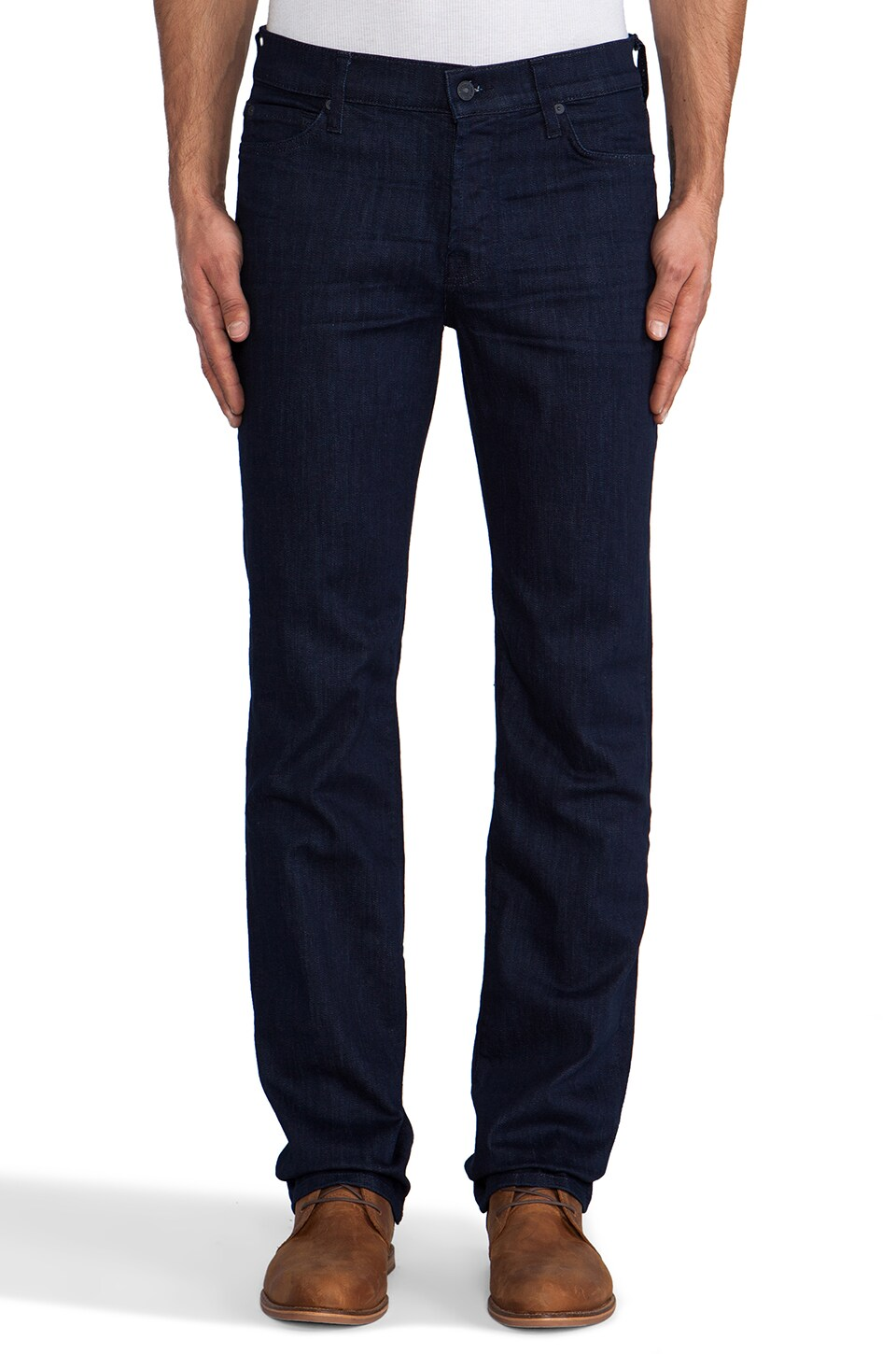 7 For All Mankind Luxe Performance Standard in Sunsets Edge