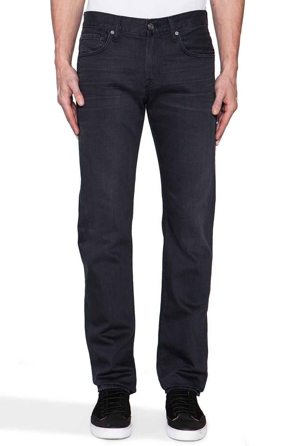 7 For All Mankind Straight in Arctic Greying