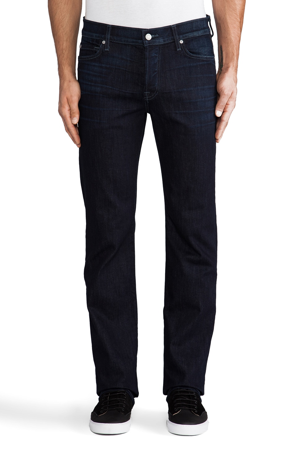 7 For All Mankind Standard in Midnight Waters