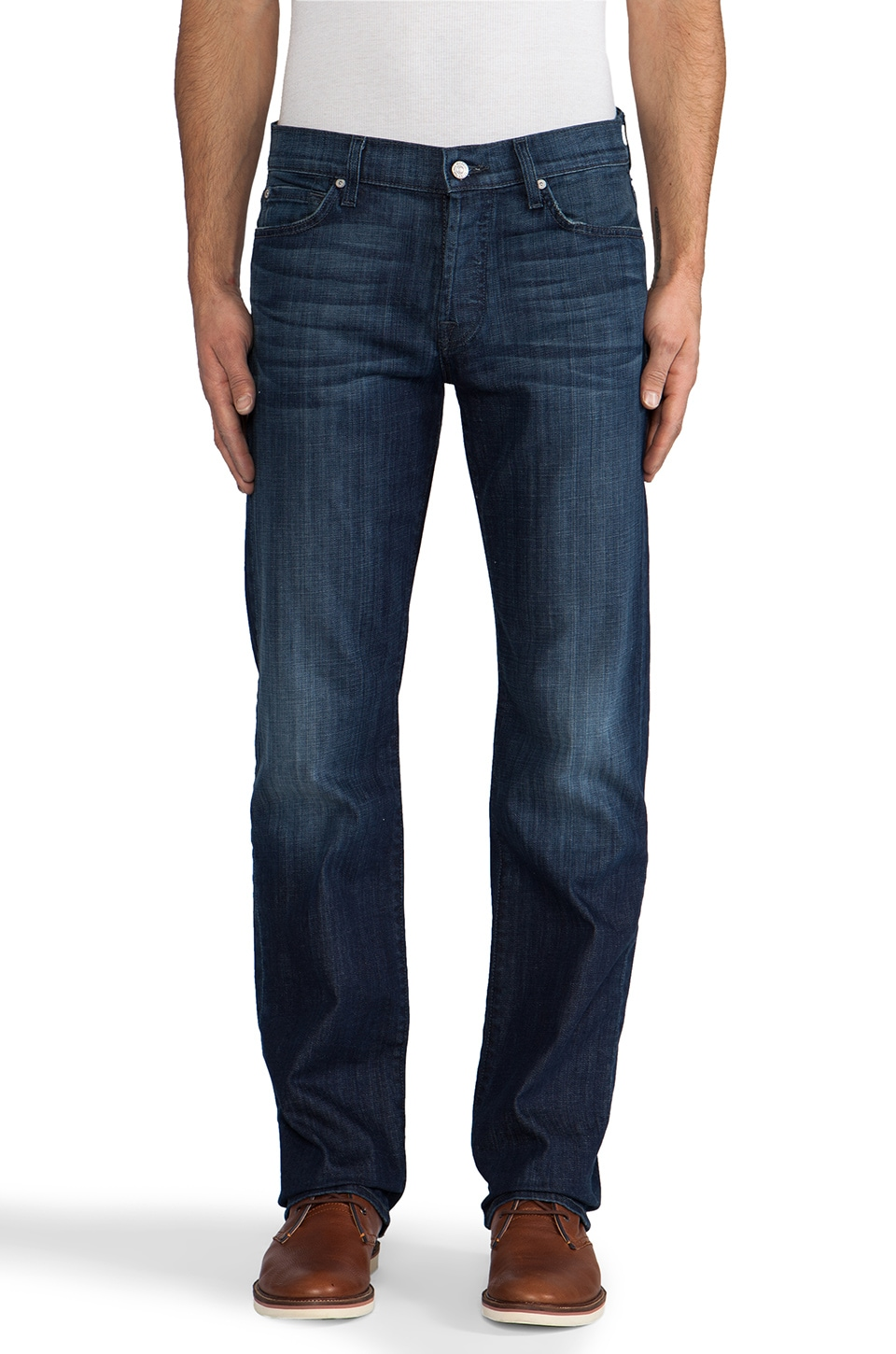 7 For All Mankind Standard in Ether Blue