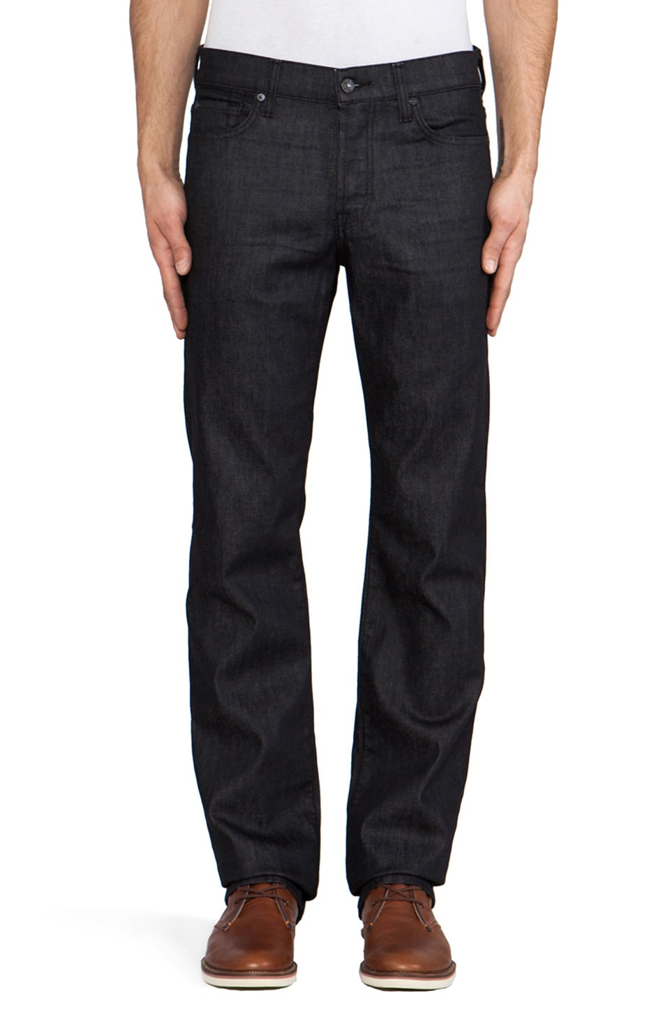 7 For All Mankind Standard in Clean Black