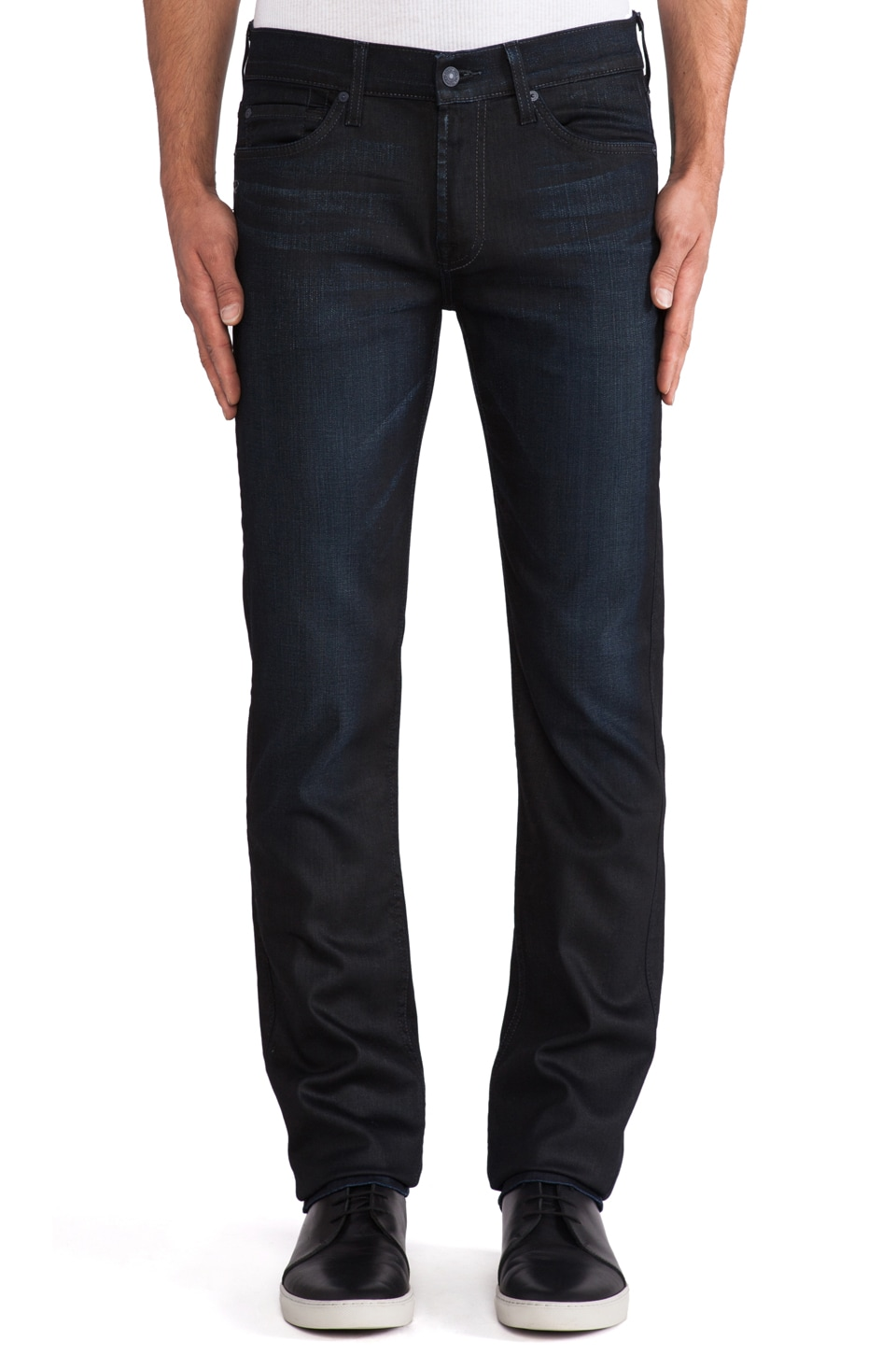 7 For All Mankind Slimmy in Black Bay