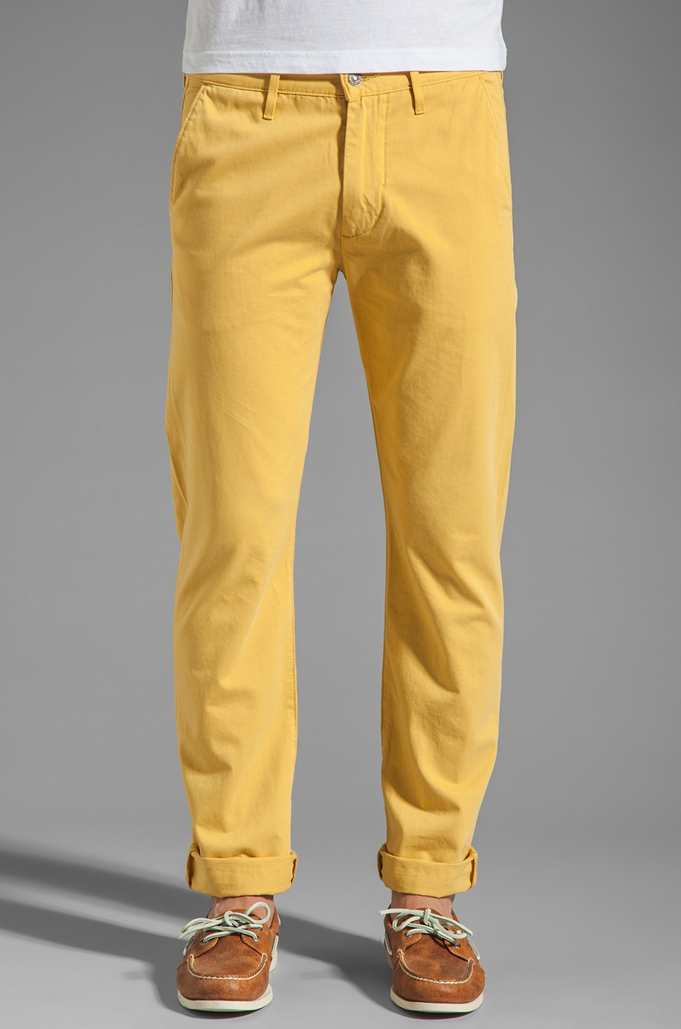 7 For All Mankind The Chino in Ochre