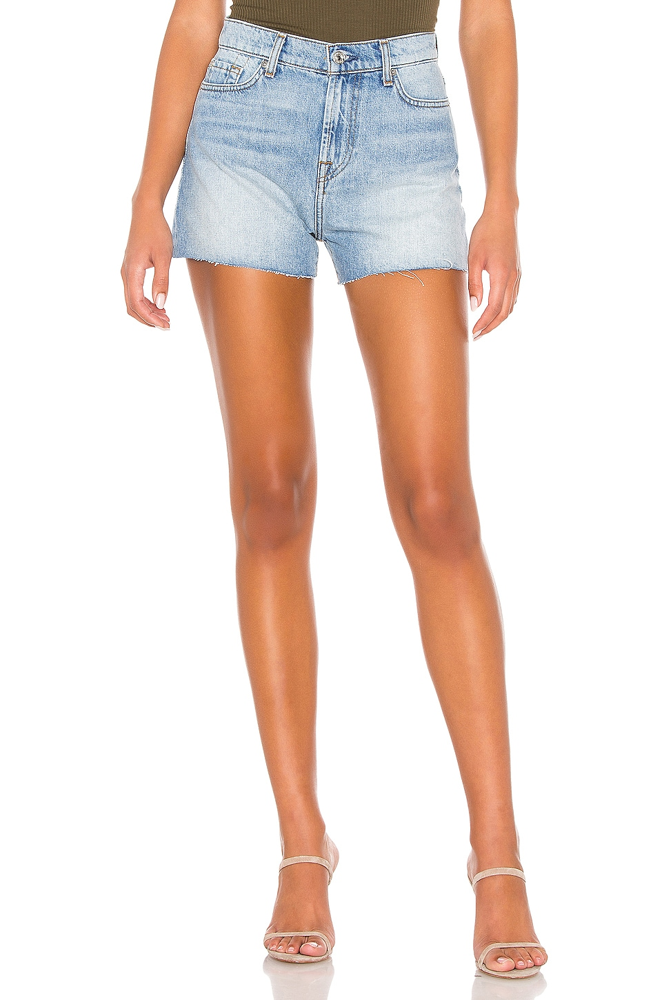 7 For All Mankind Cut Off Short in Prairie Sky