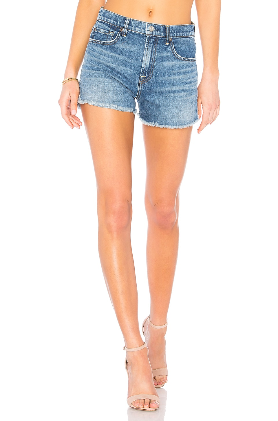 7 For All Mankind Cut Off Short in Desert Oasis