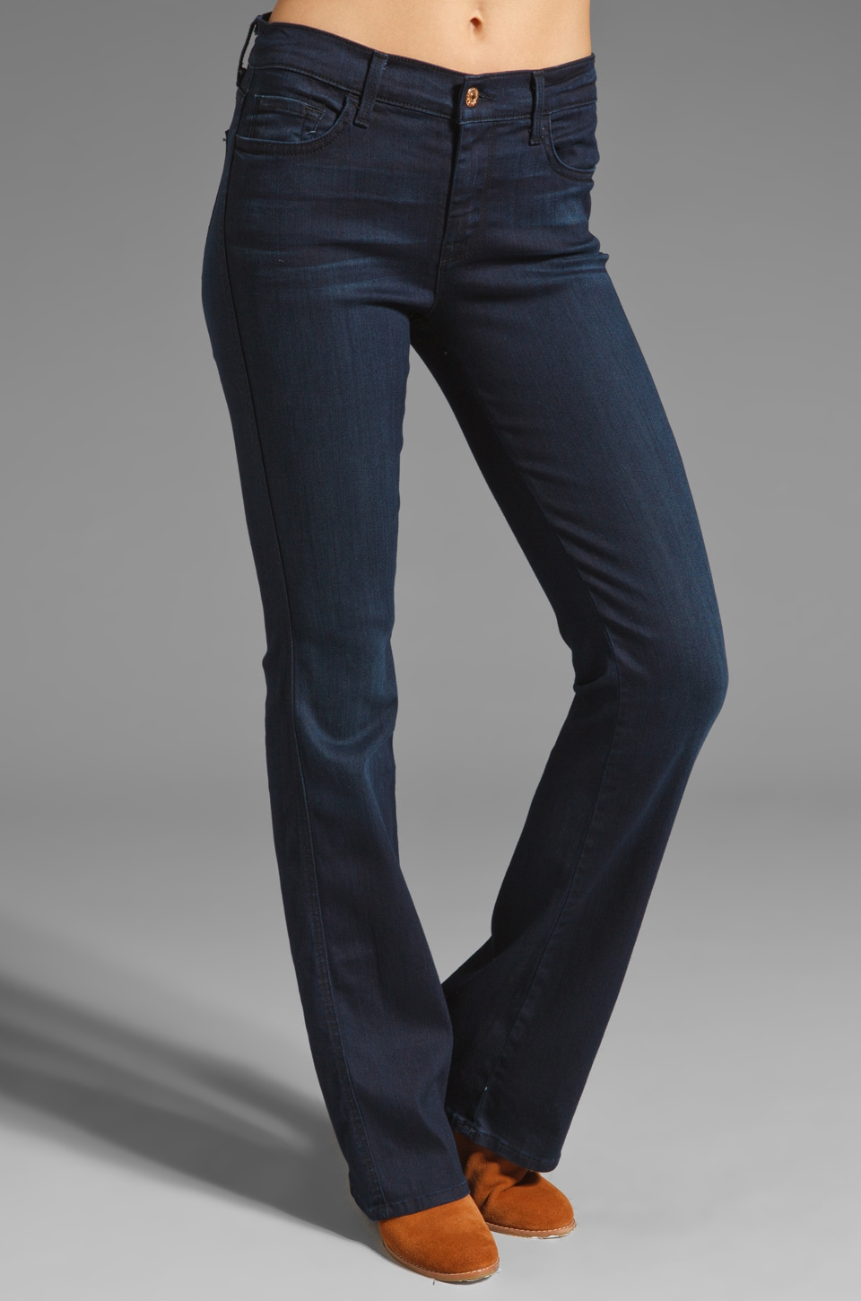 7 For All Mankind Bootcut with Stardust in Dusk Night Sky