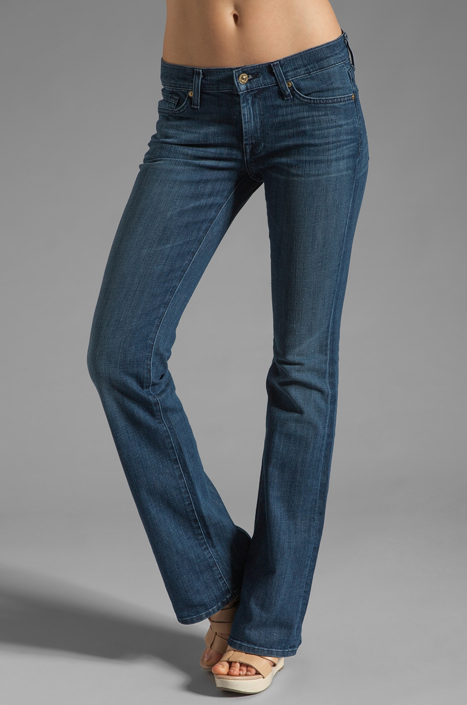 7 For All Mankind Bootcut in Radiant Shining Star