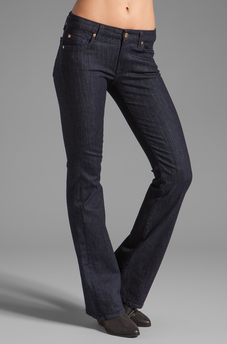 7 For All Mankind Kimmie Bootcut in Slim Illusion Rinse