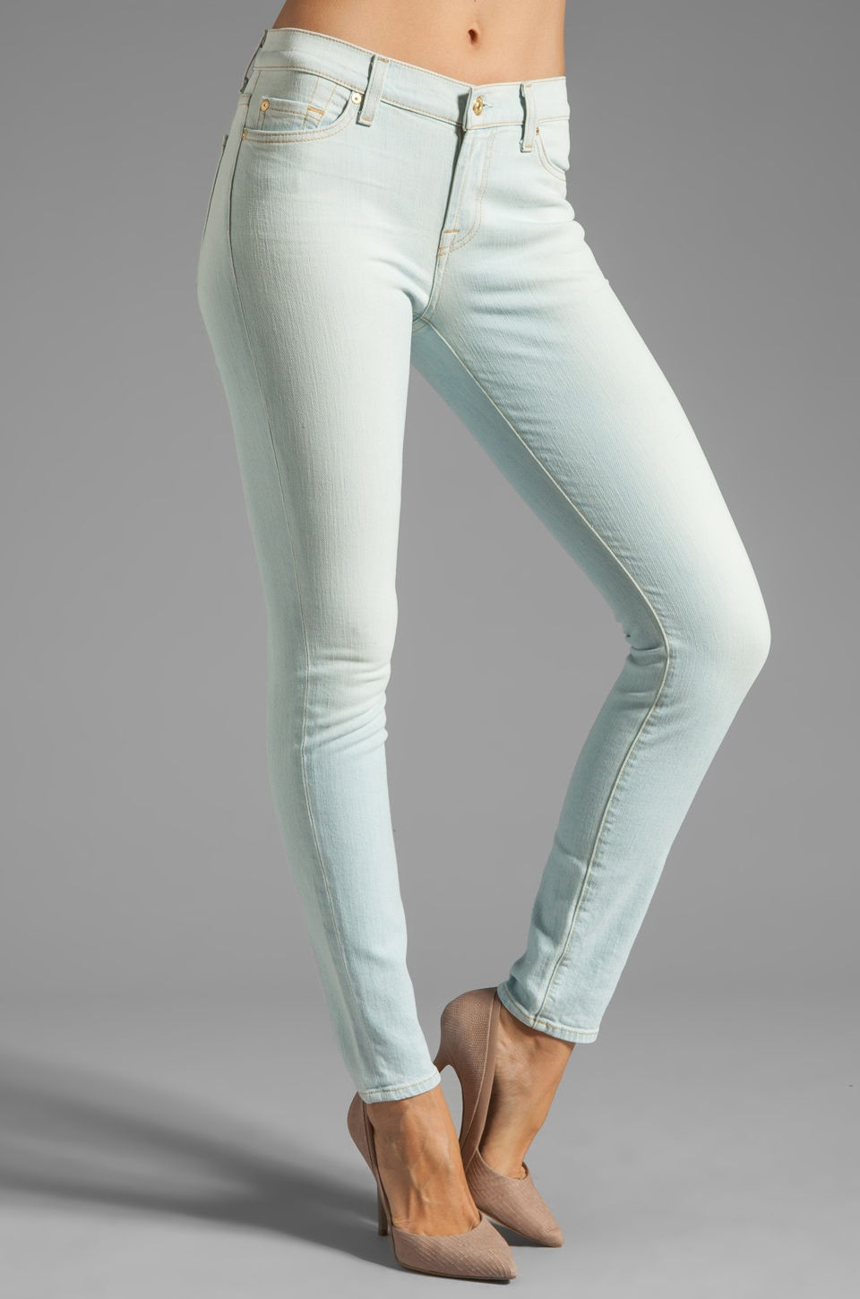 7 For All Mankind The Skinny in Clear Indigo