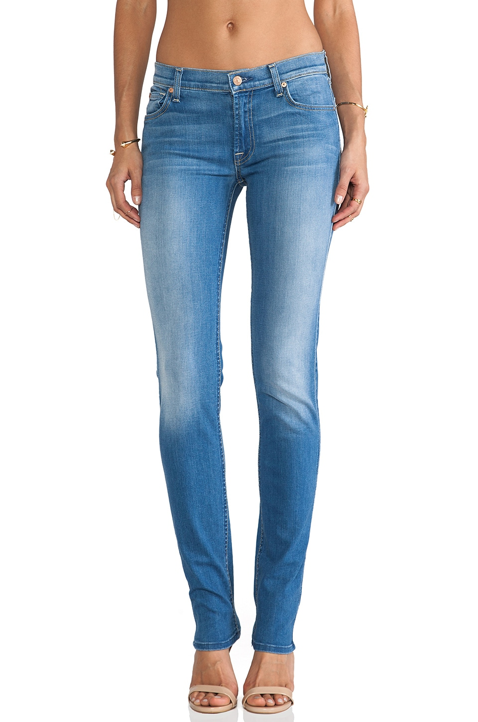 7 For All Mankind Roxanne in Dutch Blue