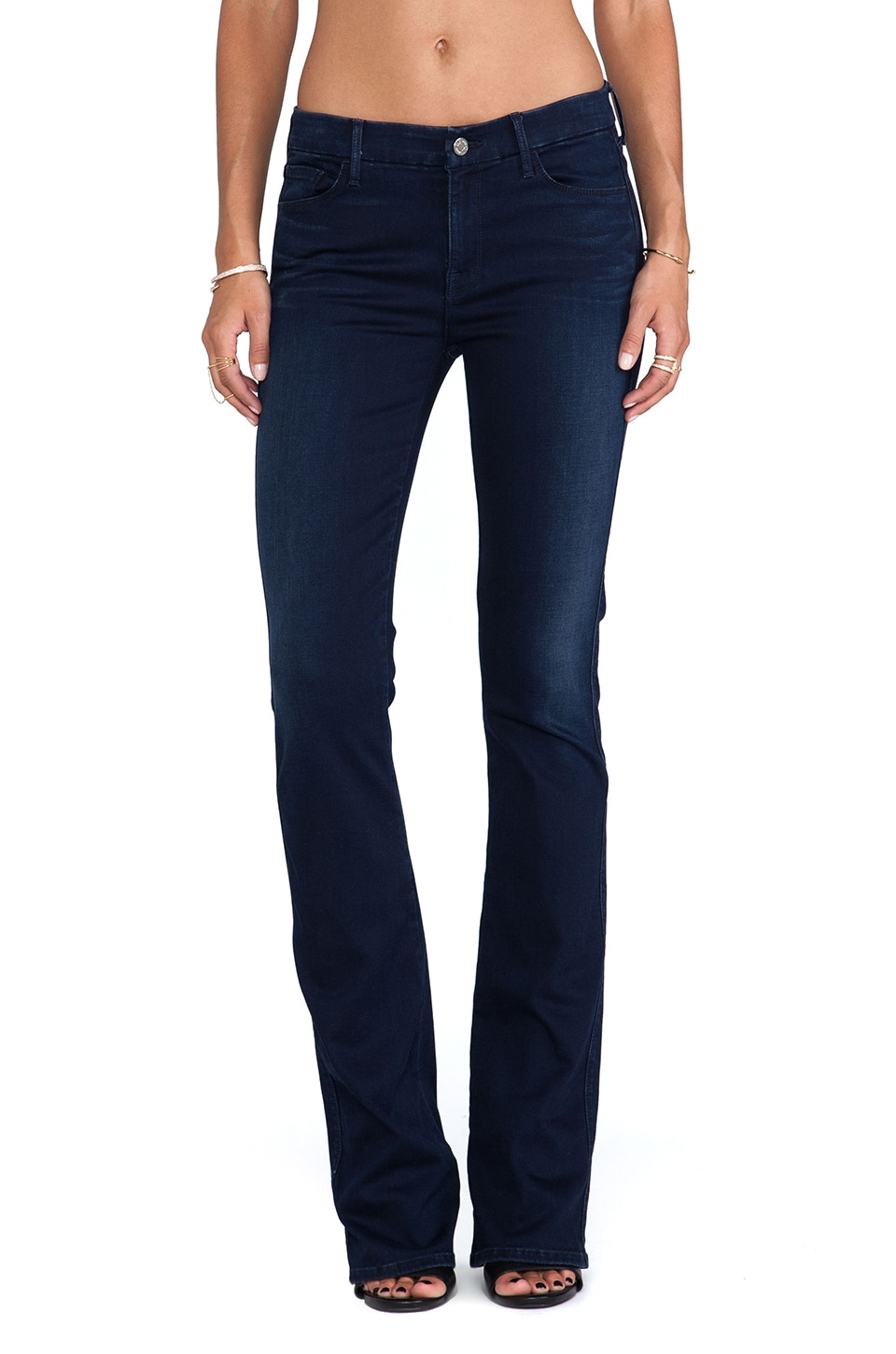 7 For All Mankind The Skinny Bootcut with Contour in Slim Illusion Luxe Rich Blue