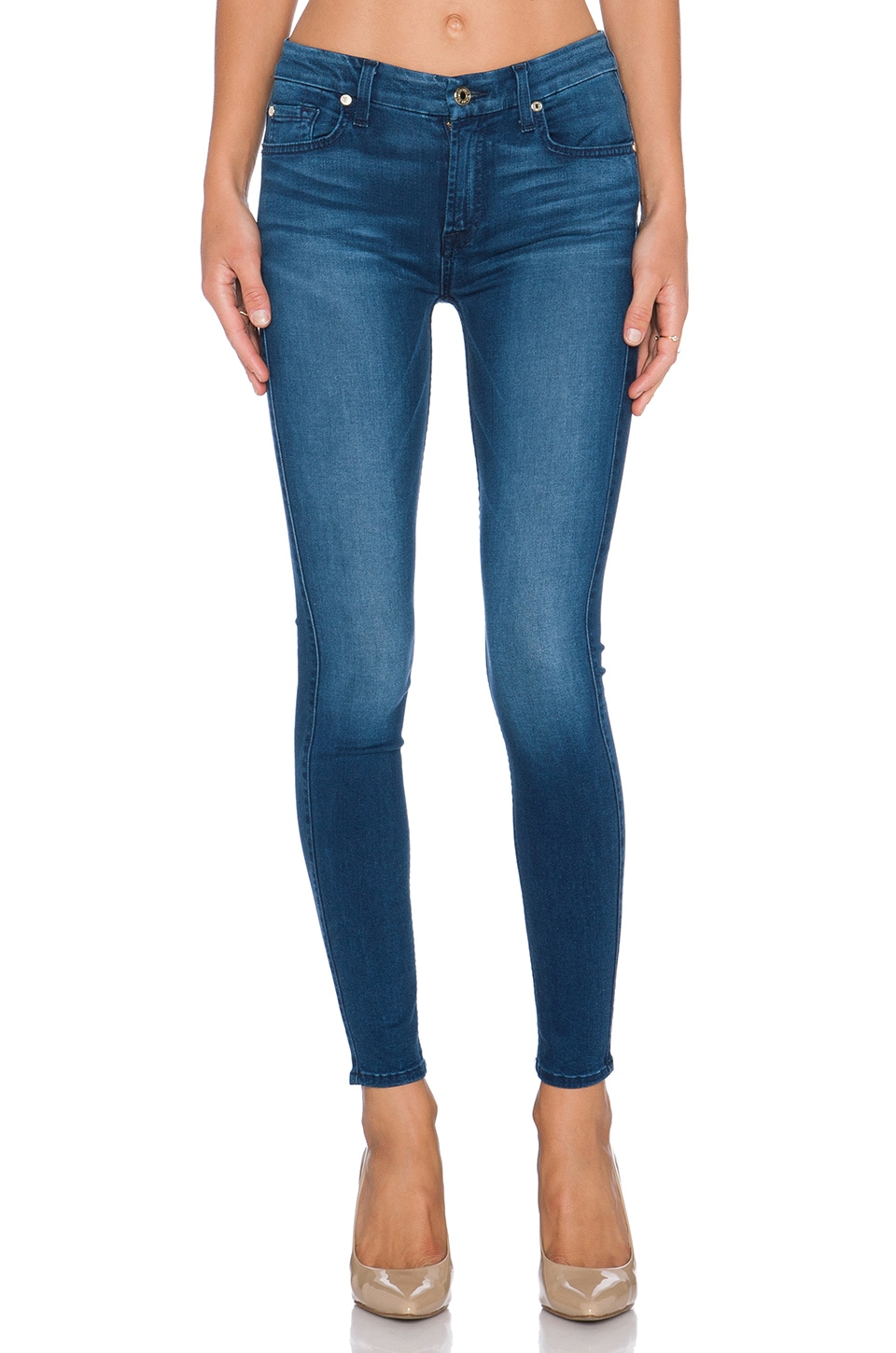 Mid Rise Ankle Skinny at REVOLVE
