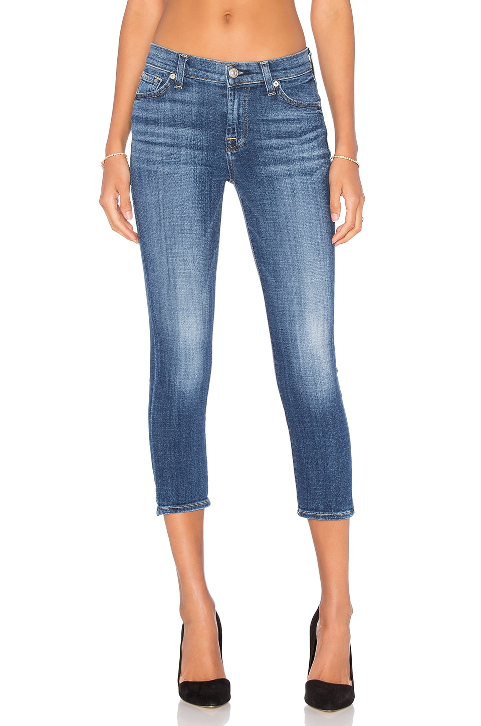 7 For All Mankind JEAN CROPPED THE CAPRI