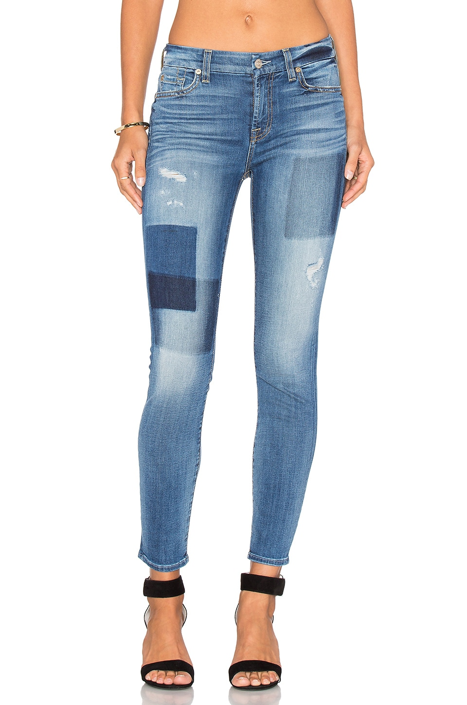 Patch Ankle Skinny