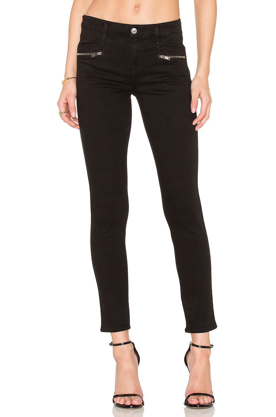 The Zip Front Ankle Skinny by 7 For All Mankind