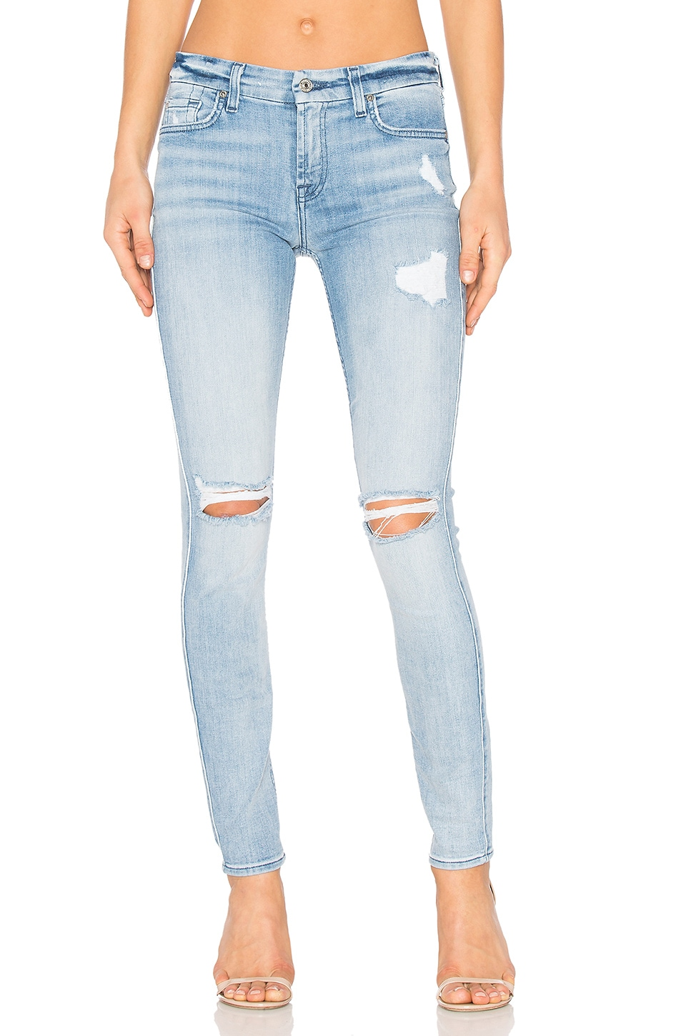 The Destroy Ankle Skinny by 7 For All Mankind
