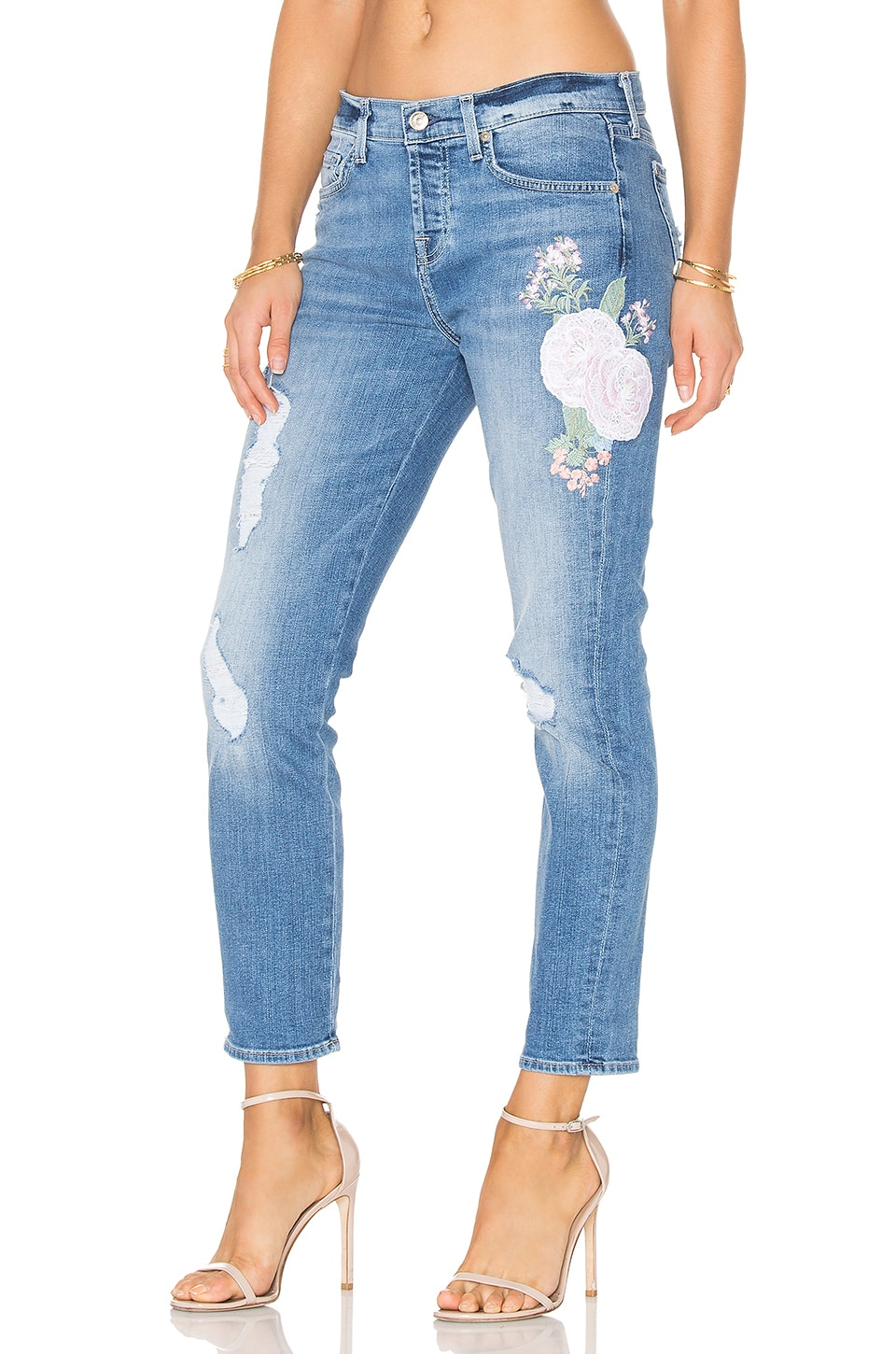 7 For All Mankind JEAN BOYFRIEND BRODÉ JOSEFINA