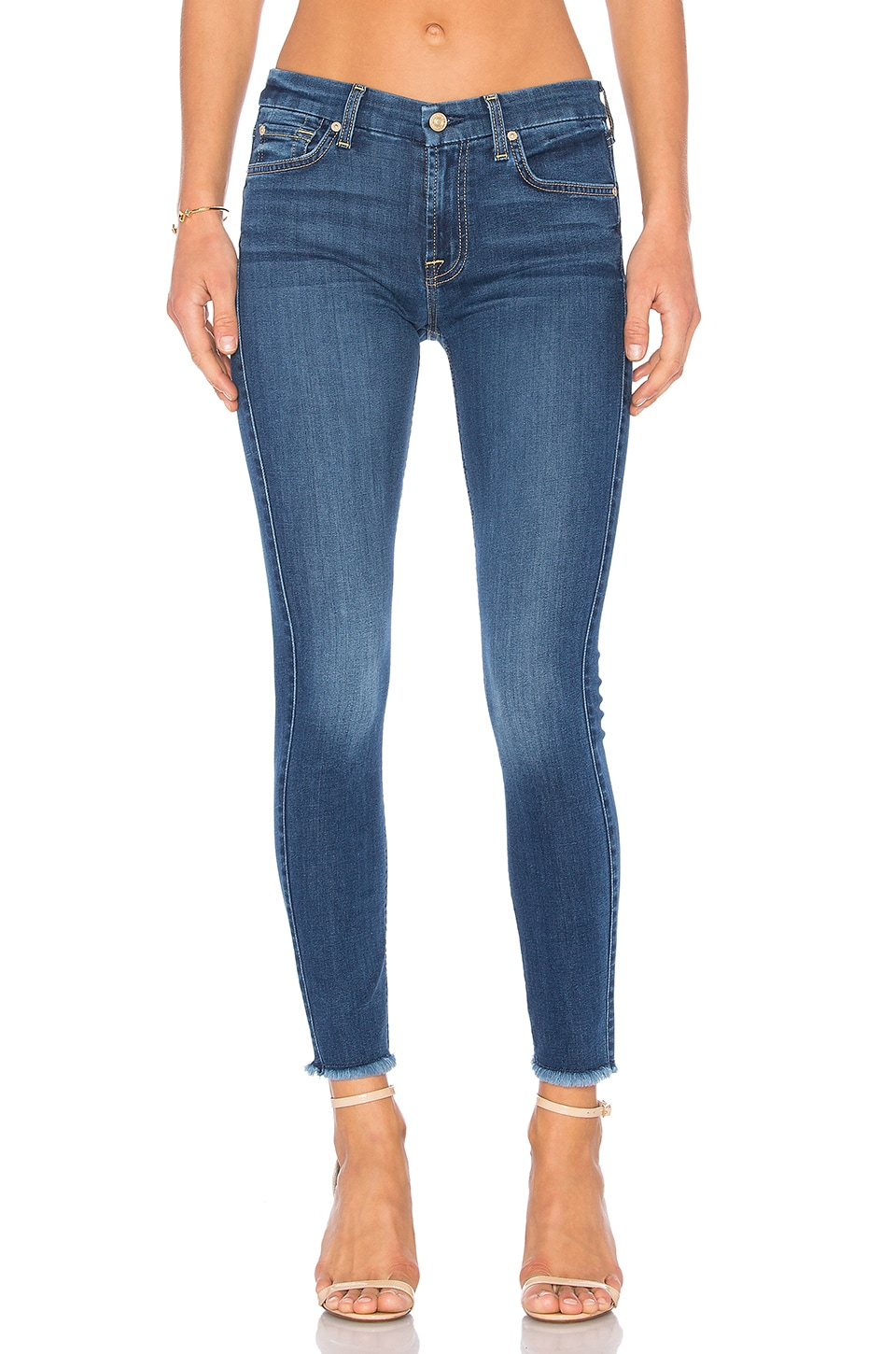 7 For All Mankind B(Air) Ankle Skinny in Reign