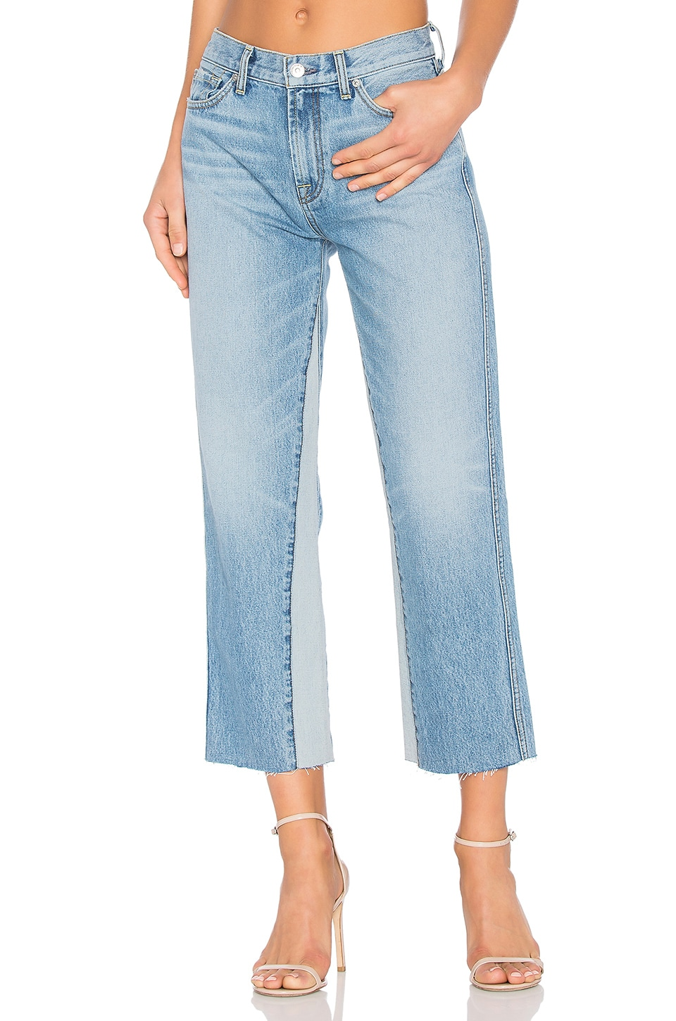 Kiki with Frayed Hem by 7 For All Mankind