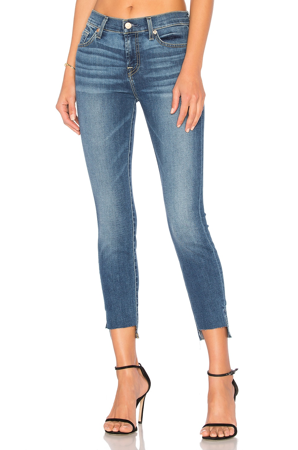 Ankle Skinny with Step Hem by 7 For All Mankind