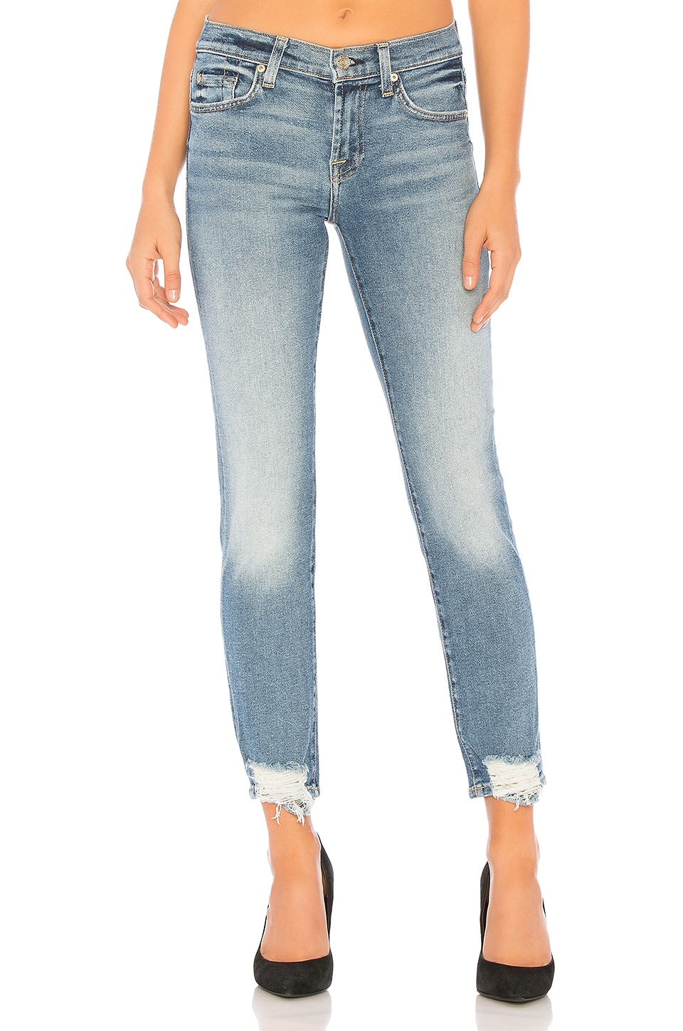 7 For All Mankind Roxanne Ankle in Luxe Vintage Muse