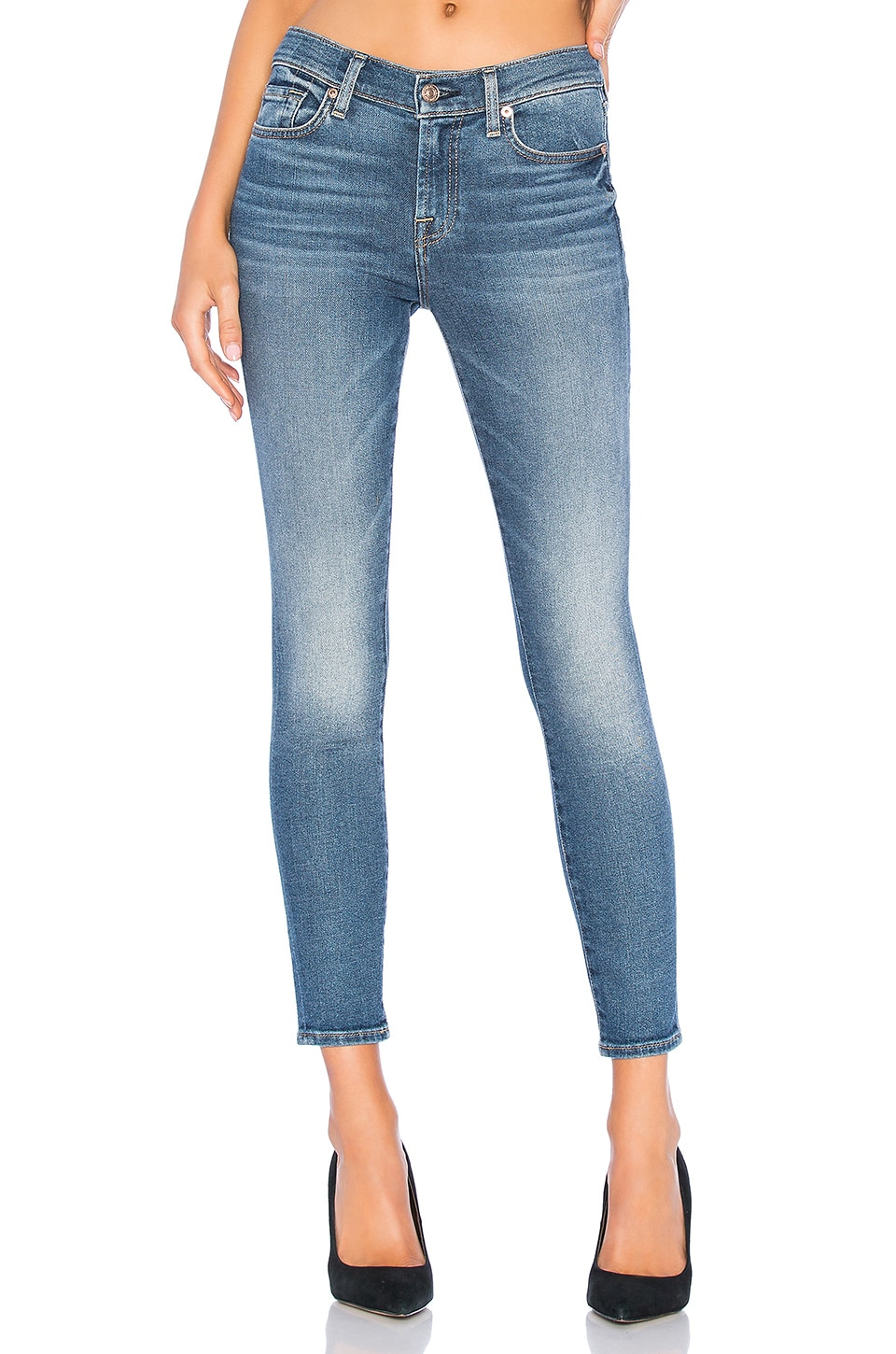 7 For All Mankind Ankle Skinny in Feme