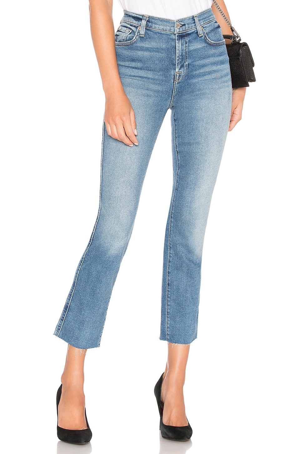 7 For All Mankind Edie Straight Leg in Luxe Vintage Muse