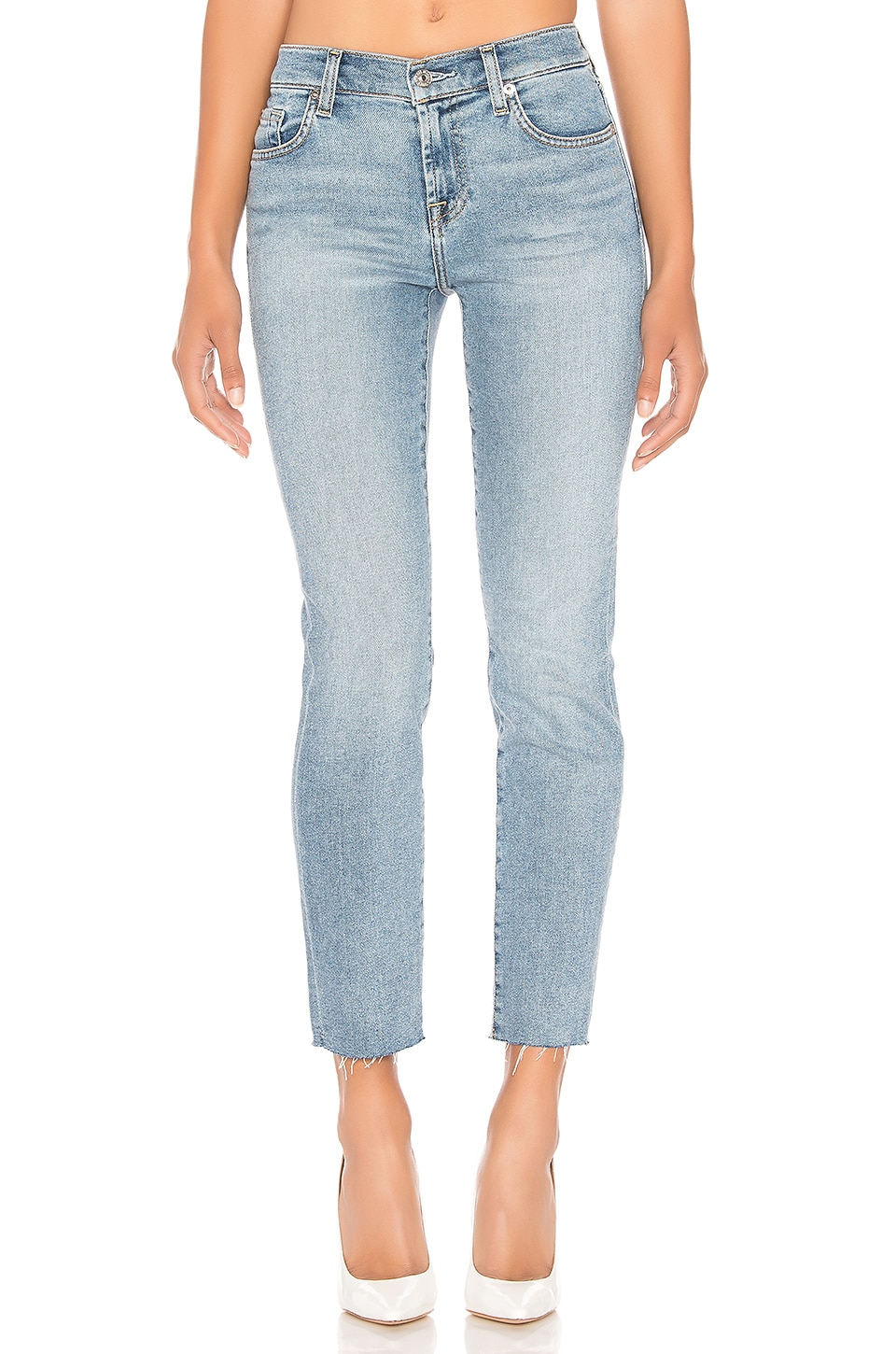 7 For All Mankind Roxanne Ankle in Luxe Vintage Flora
