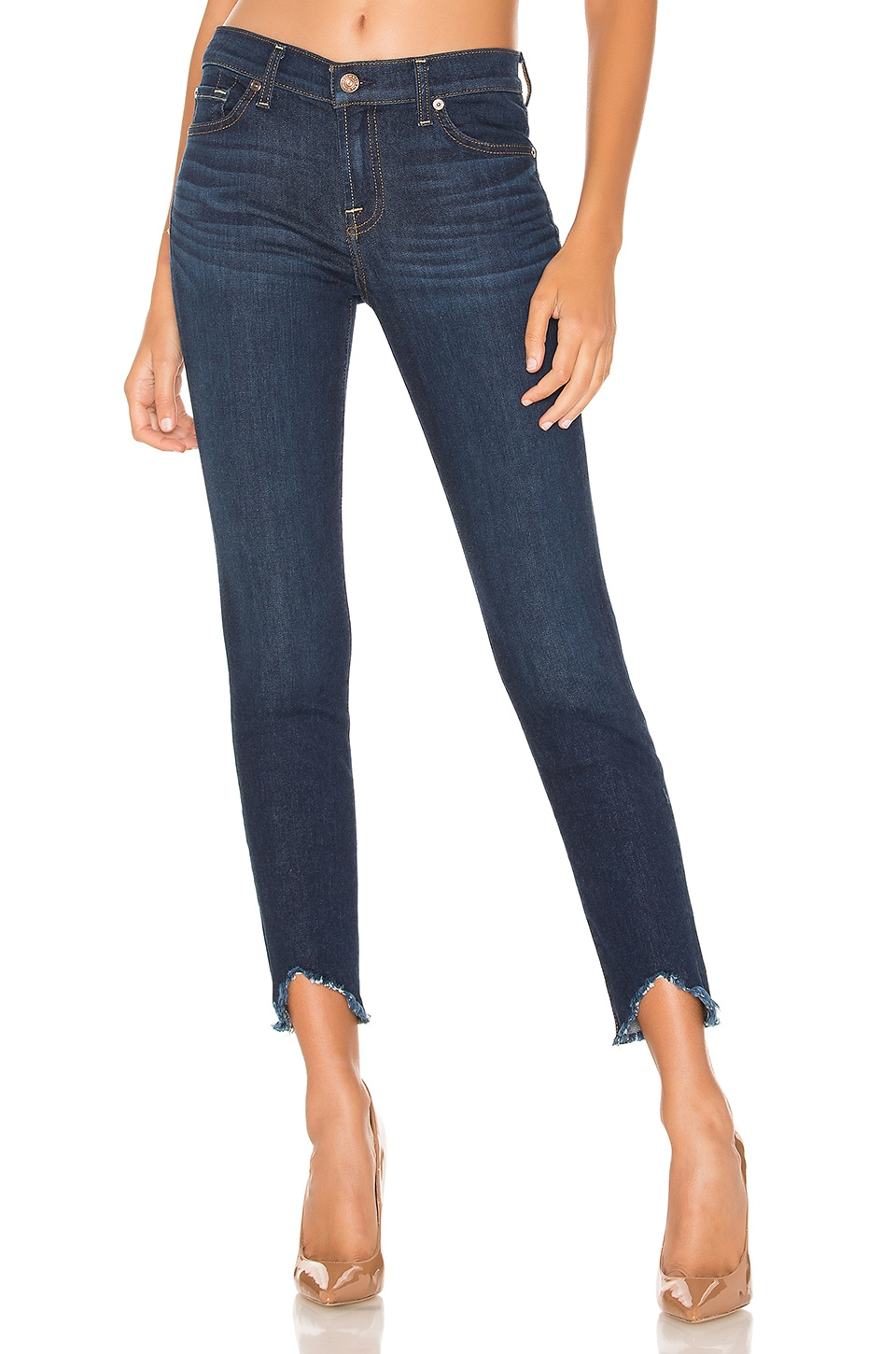 7 For All Mankind Ankle Skinny in Serrano Night