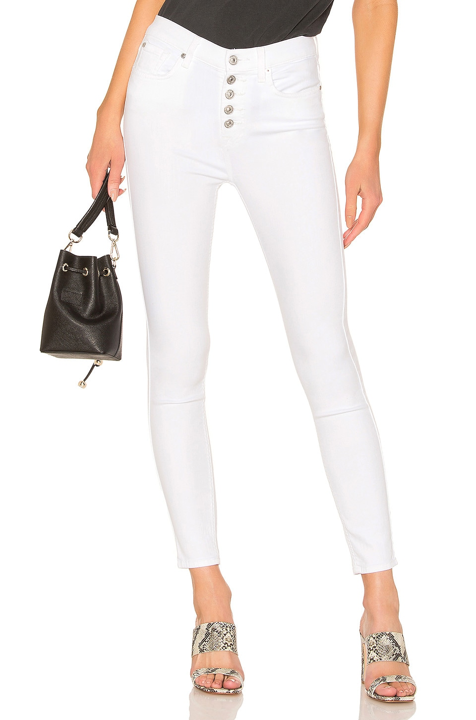 7 For All Mankind JEAN SKINNY HIGH WAIST