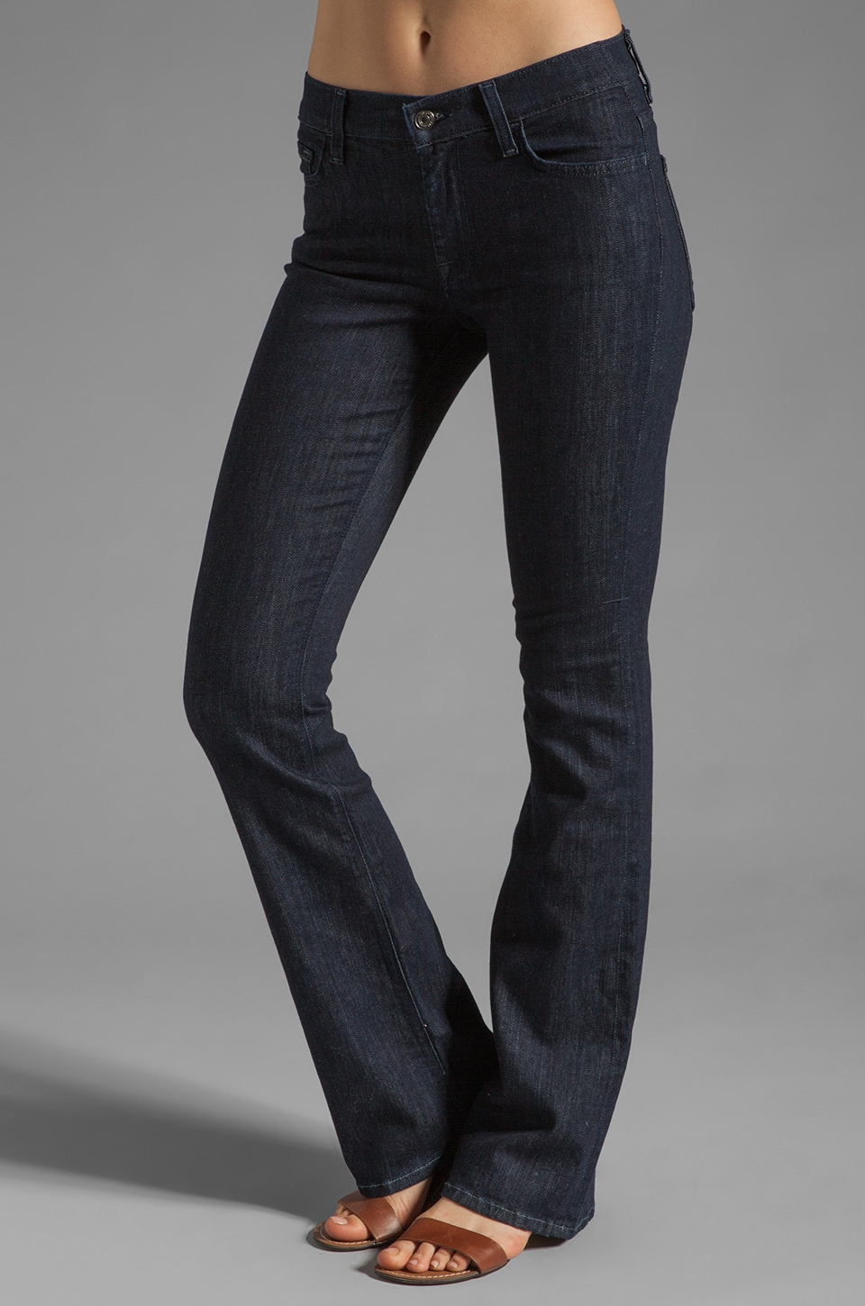 7 For All Mankind Mid-Rise Boot Cut in New Rinse
