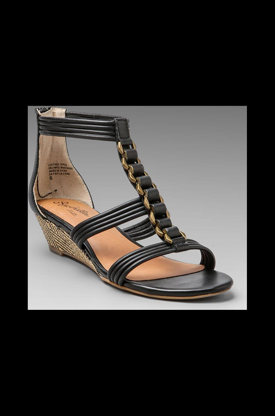 Seychelles Heart of the Matter Sandal in Black