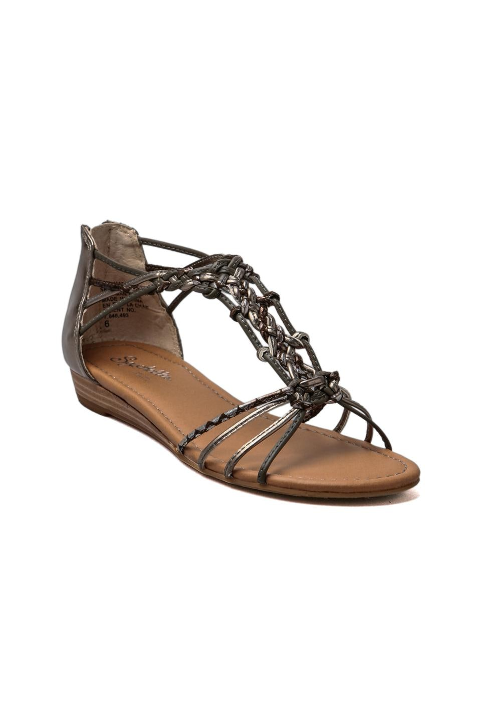 Seychelles Treat Yourself Sandal in Pewter