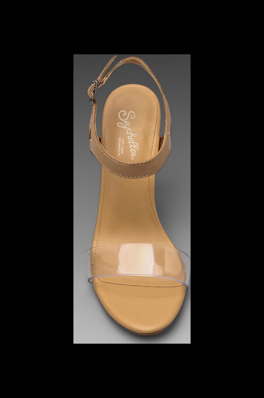 Seychelles Saffron Heel in Tan