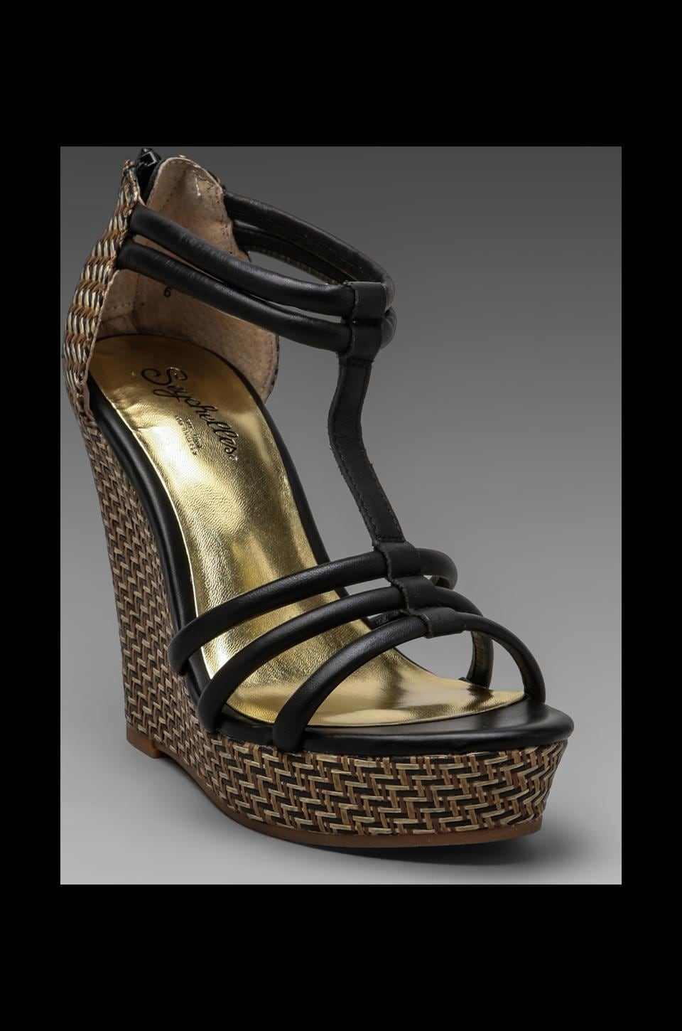 Seychelles Gasp Wedge in Black