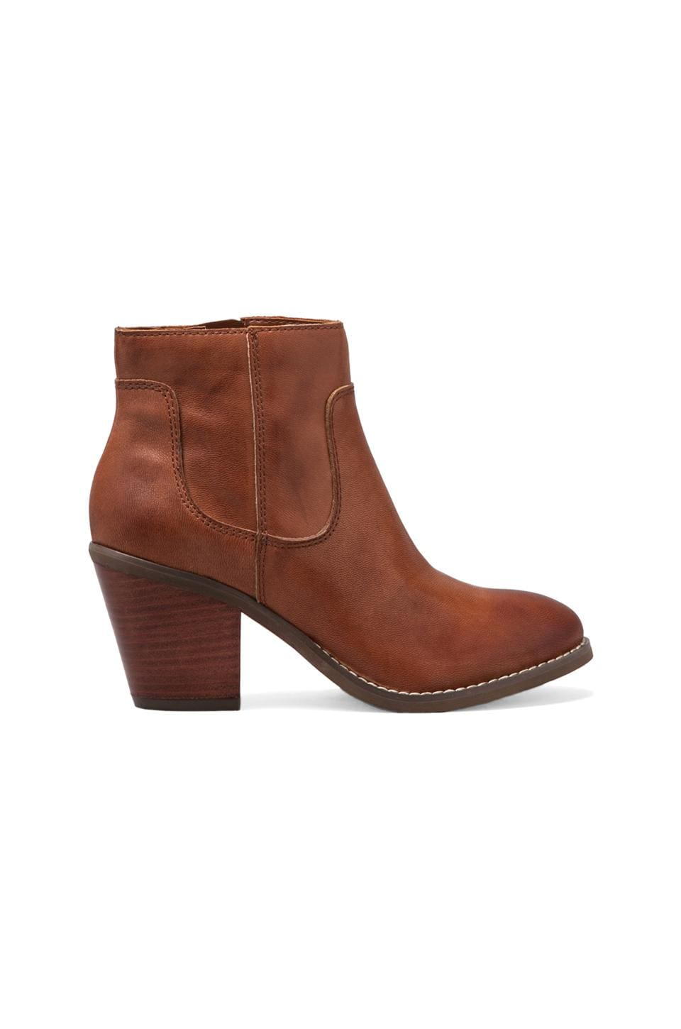 Seychelles Crazy For You Bootie in Whiskey Leather