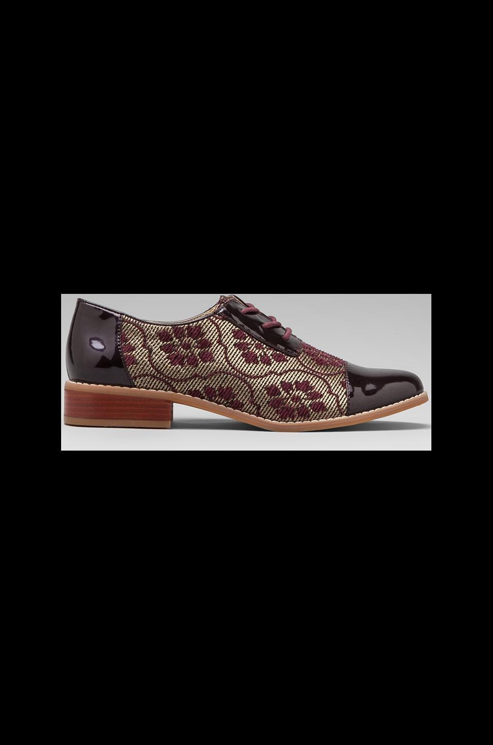 Seychelles By Your Side Oxford in Burgundy Brocade