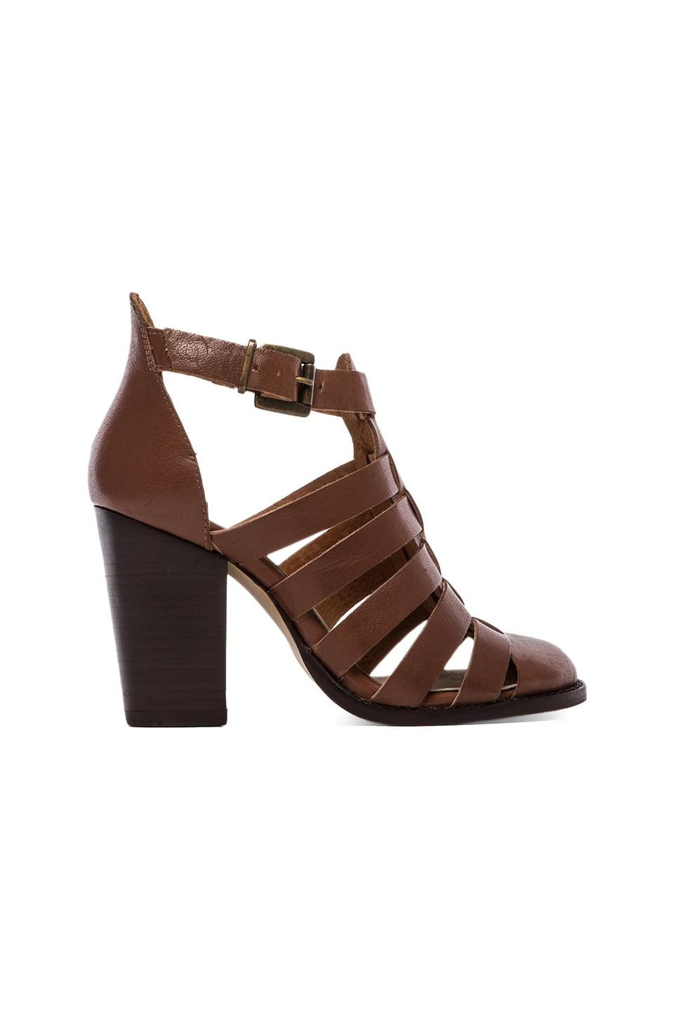 Seychelles In The Sky Sandal in Cognac