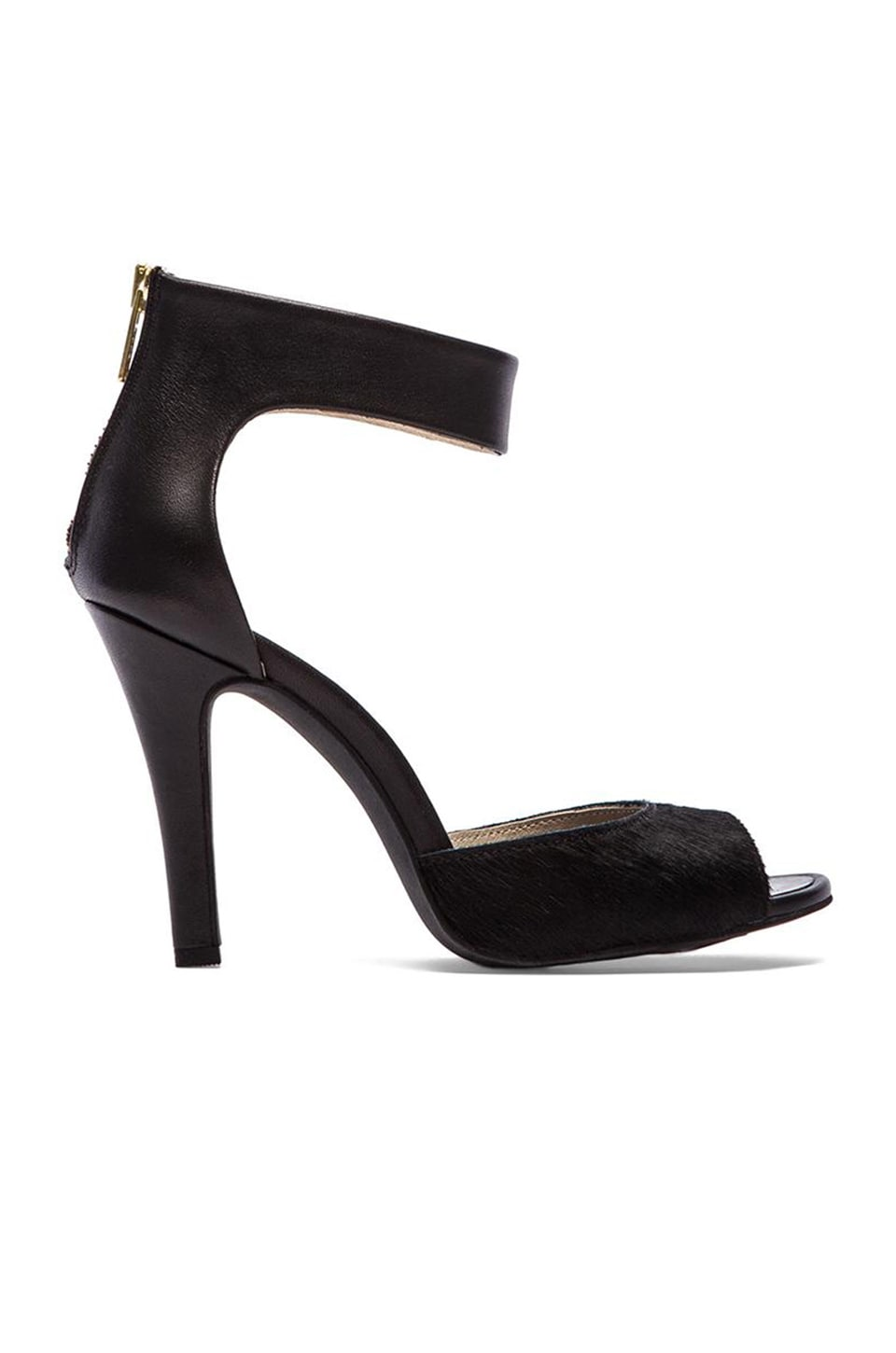 Seychelles Good Fortune Heel in Black & Black