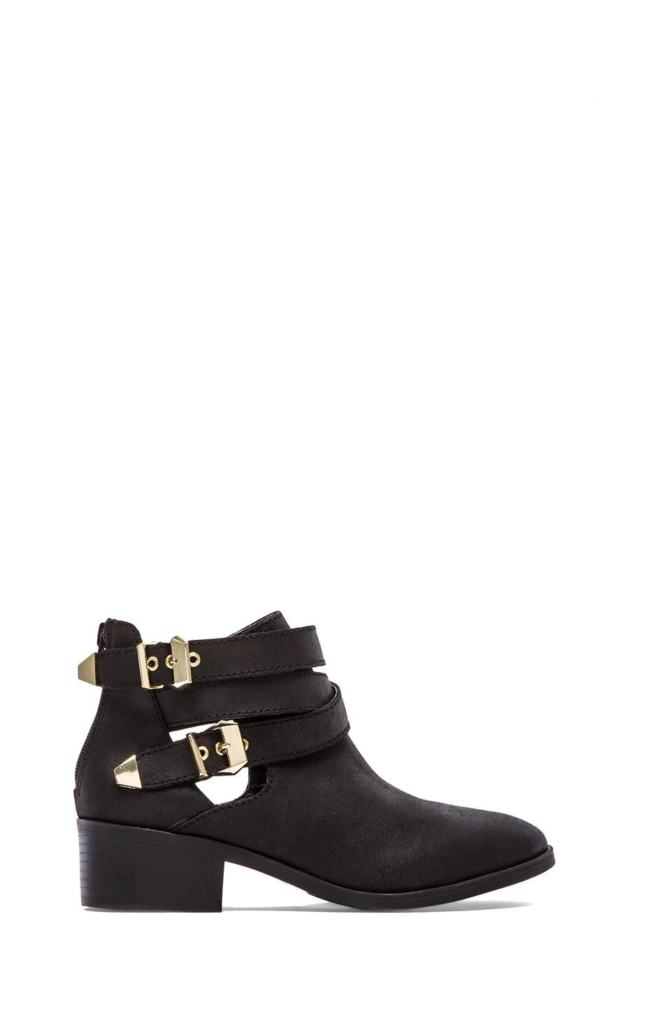 Seychelles Scoundrel Bootie in Black Distressed